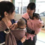 1/16(月)ぬくもりが愛しいスリング抱っこの体験会@カフェ&スペースほとり(ランチ付き)