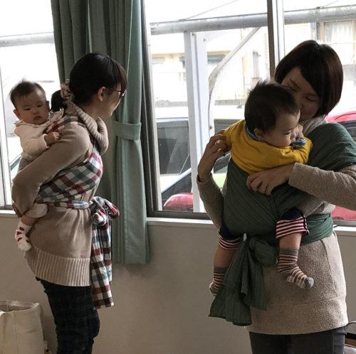 5/22(月)Babywearing体験会&練習会@カフェ&スペースほとり【ランチ付き講座】