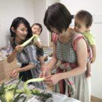 【満席御礼・申込終了】4/19 むすビバ×いちご 赤ちゃんと一緒におうちしごとを楽しむ ベビーウェアリングサロン