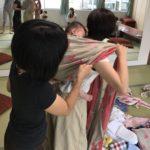【講座報告】9/20開催 Babywearing体験会&練習会+ランチ交流会