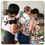 【講座報告】5/7(月)赤ちゃんと楽しむ、世界が広がるおんぶの時間+ランチ交流会