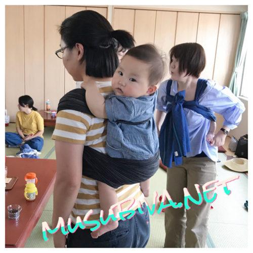 2/17(月)赤ちゃんと楽しむ☆世界が広がるおんぶの時間@akari(伊豆の国市)
