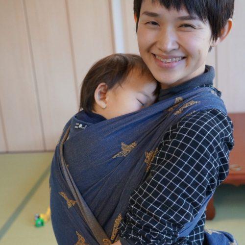 10/1 赤ちゃんと一緒に包まれる、初めてのベビーラップ