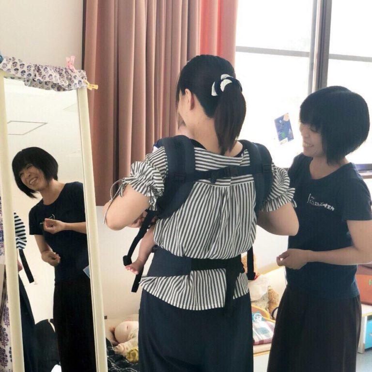 8/5(月)抱っこ紐・おんぶひもの使い方&お悩み相談会(2部制)